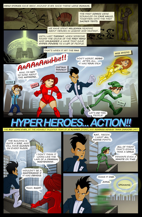 Introduction: Hyper Heroes... Action!